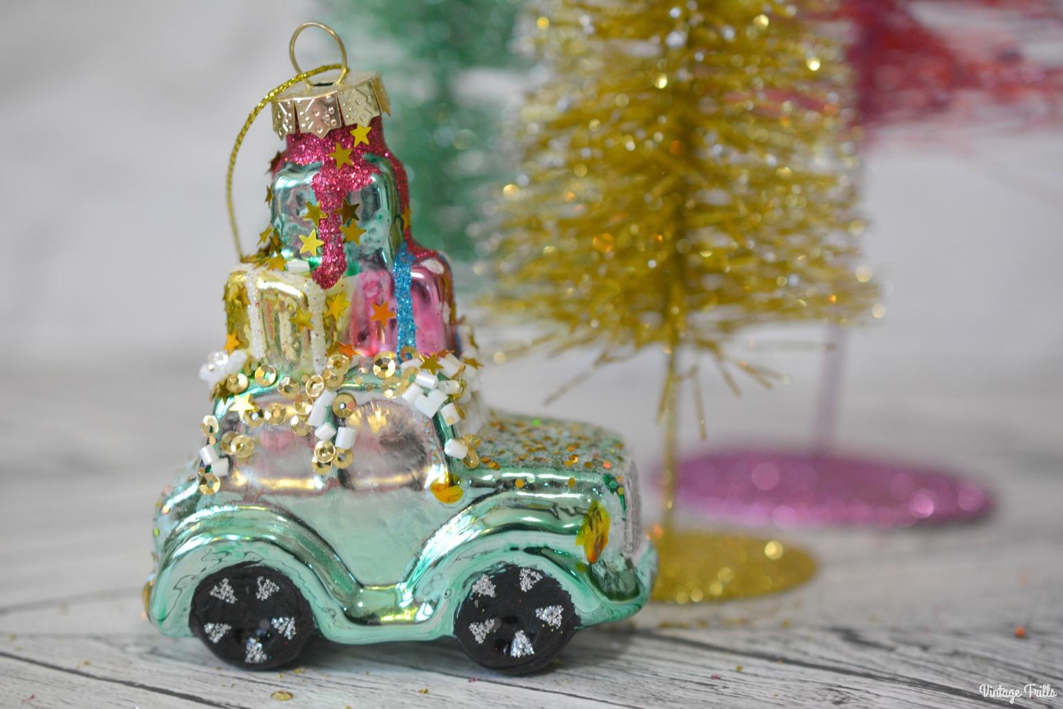 Aldi Christmas Tree Decoration Haul #Blogmas