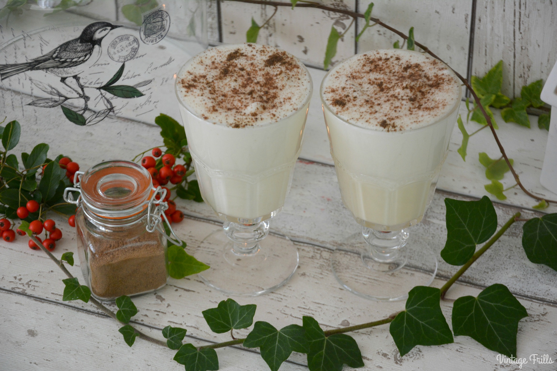 Classic Christmas Eggnog Recipe #Blogmas