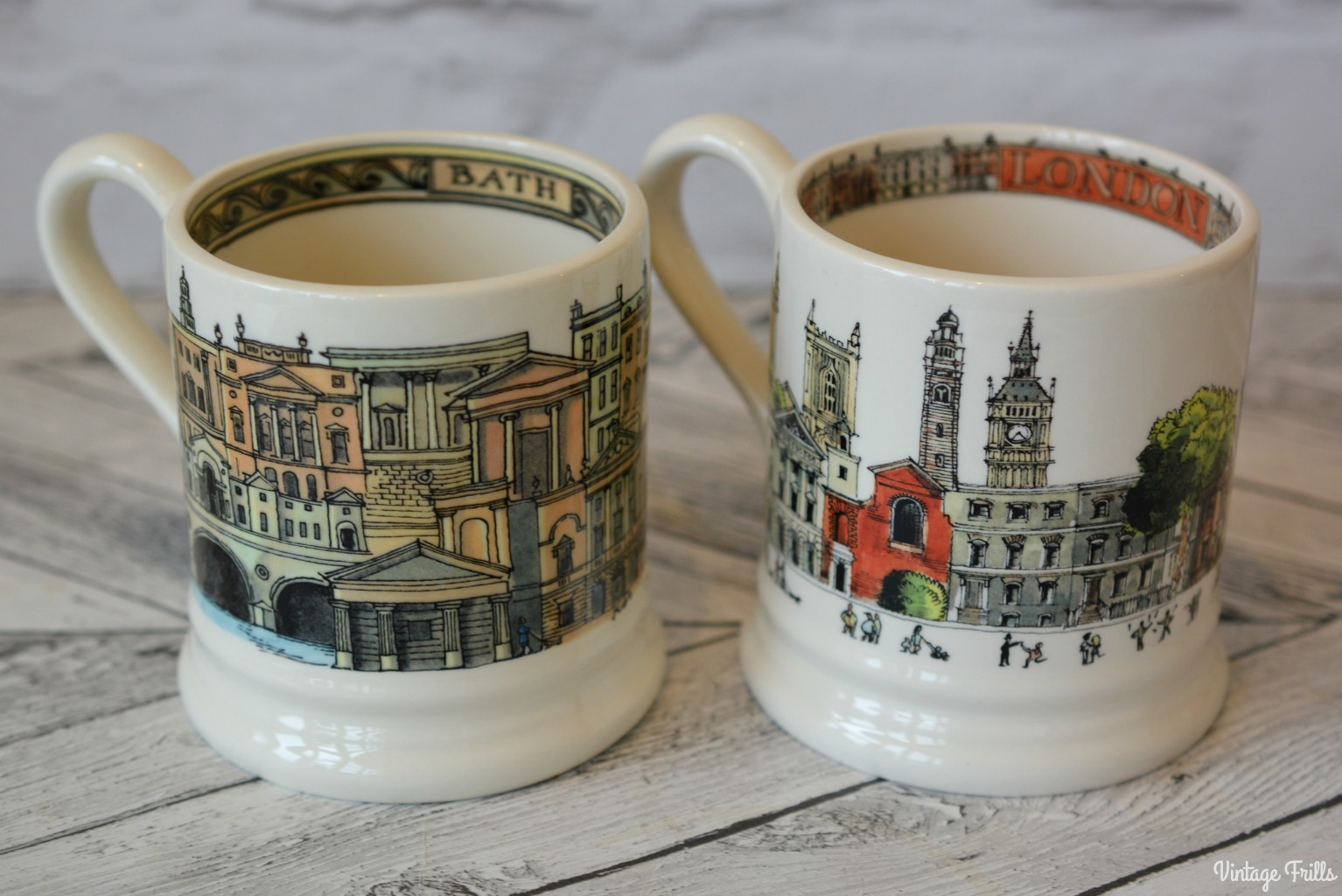 Emma Bridgewater Bath and London Mugs