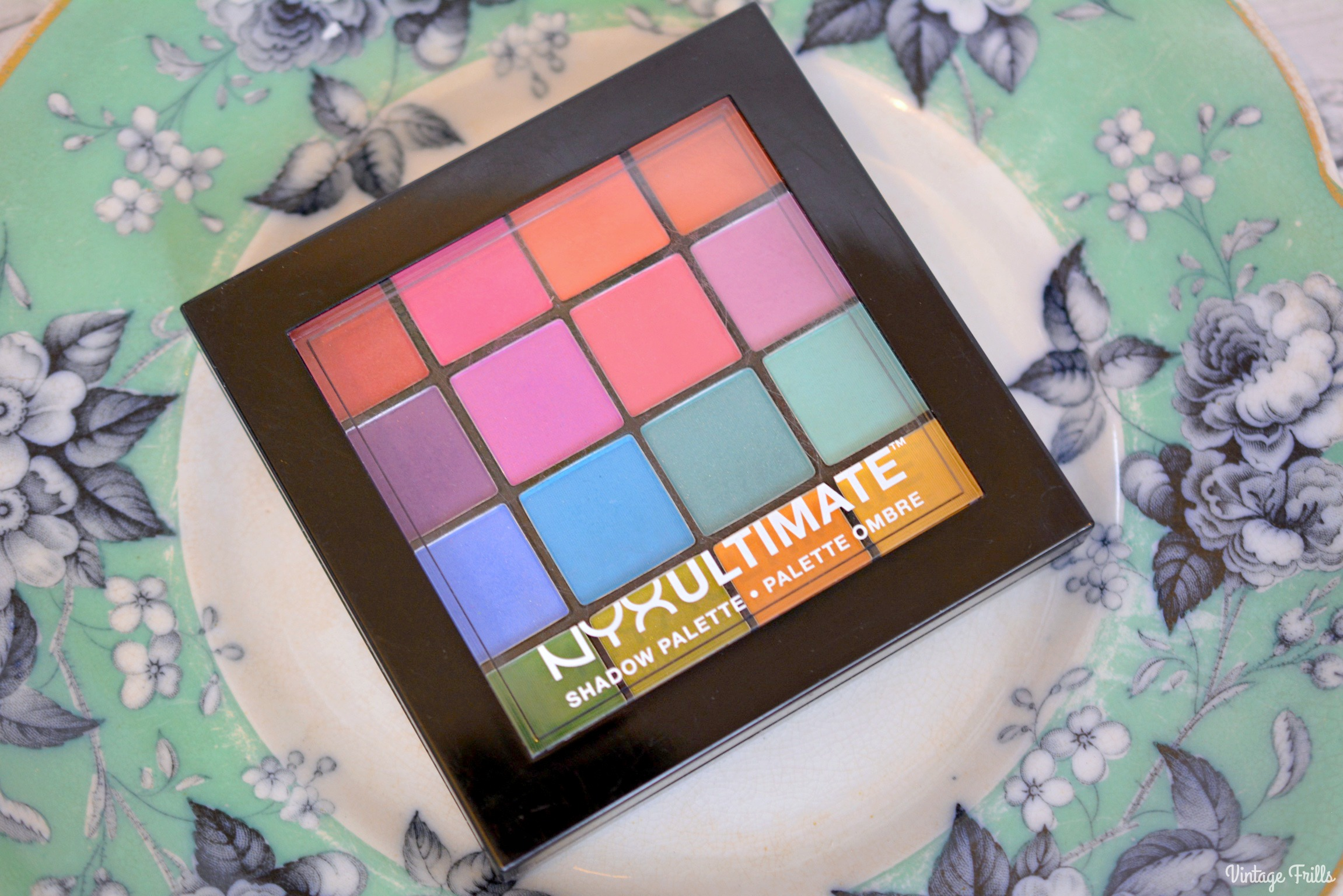 February 2018 Beauty Favourites | NYX Shadow Palette