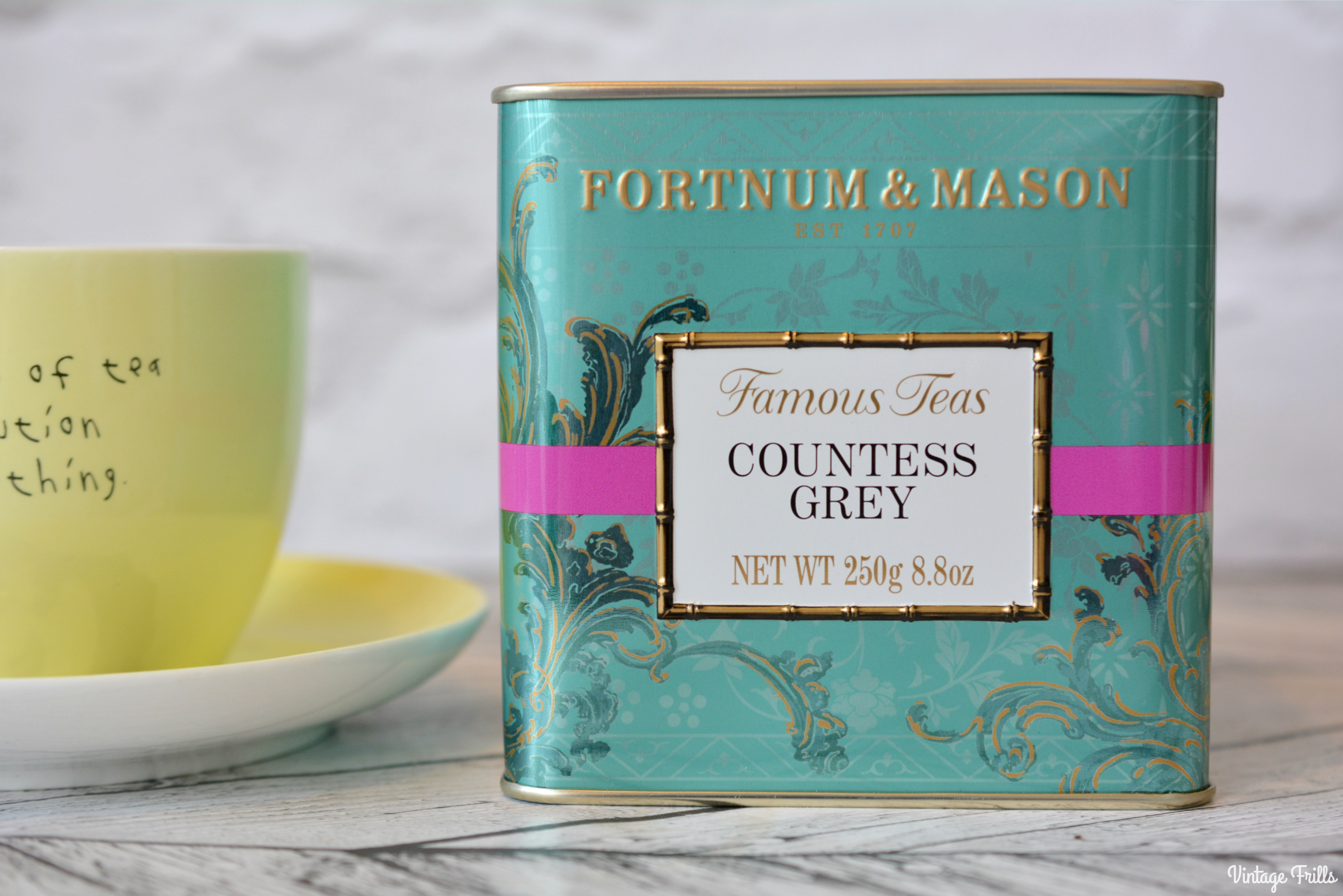 Favourite Tea - Fortnum and Mason Countess Grey