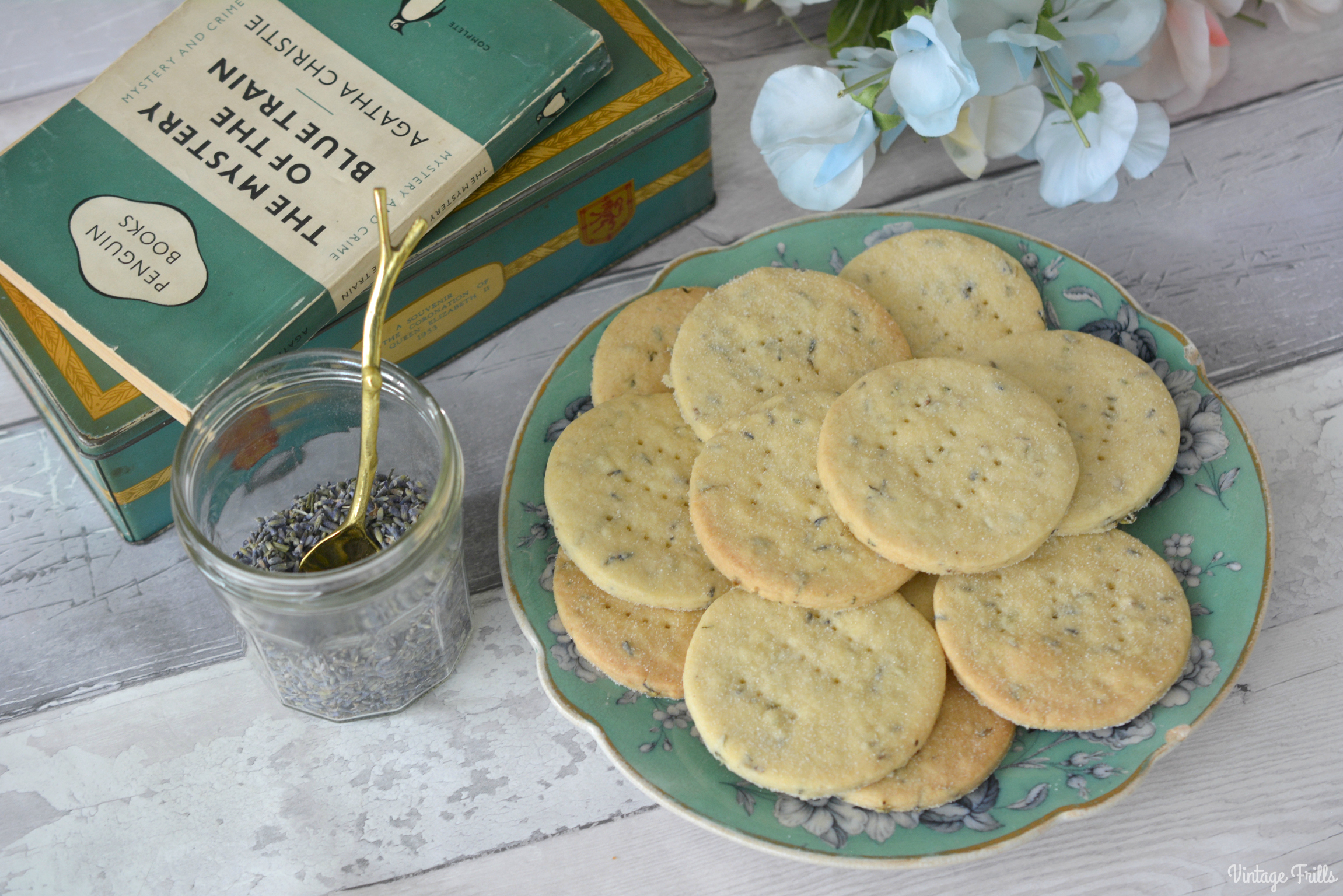 Baking – Lavender Shortbread Recipe