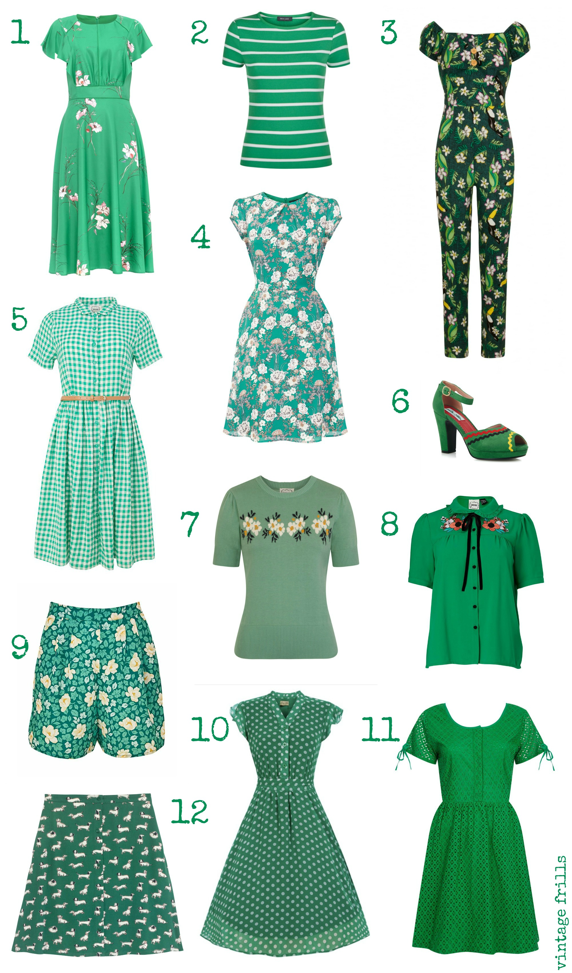 Spring Greens Wishlist