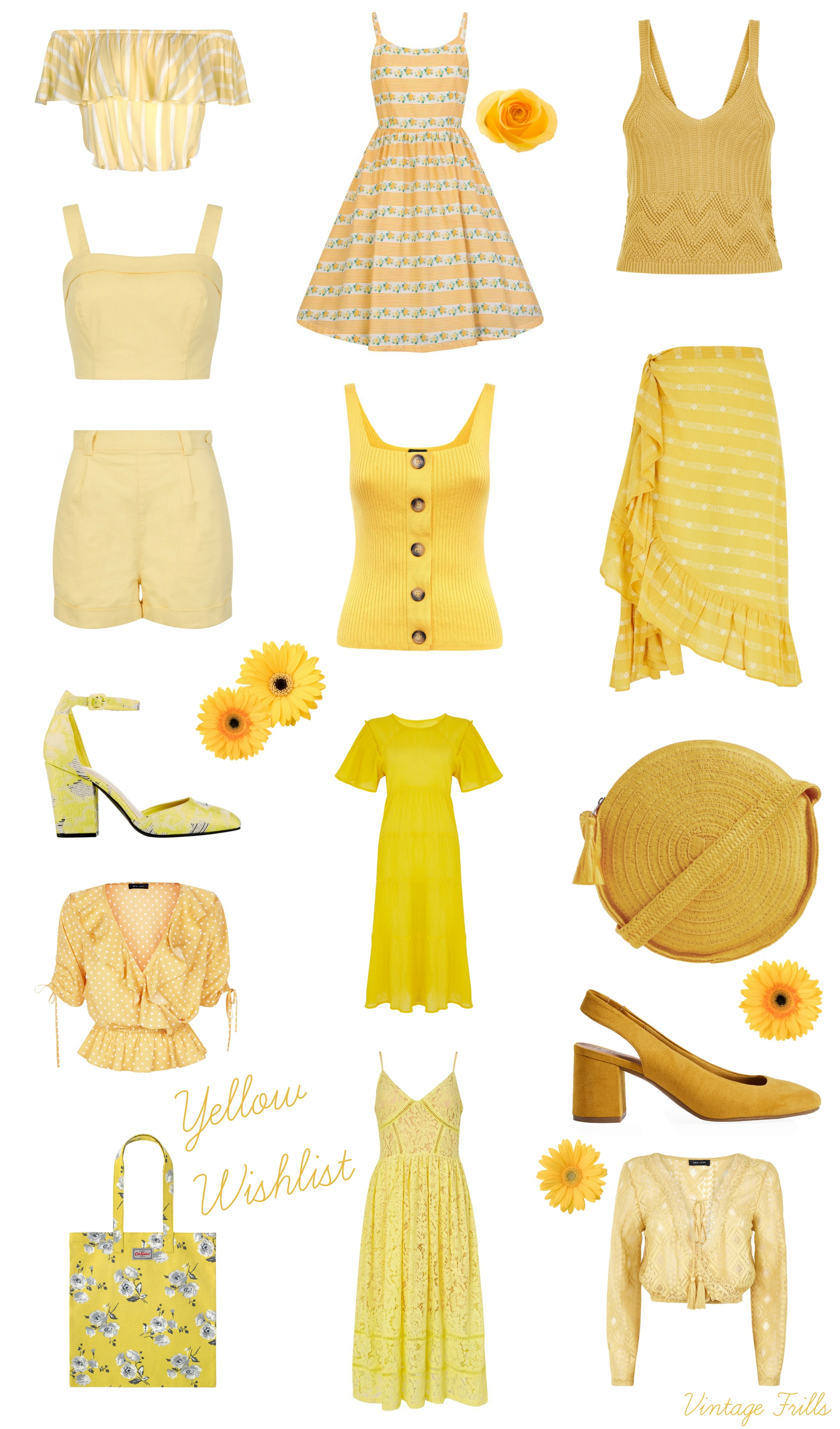 Fabulous Sunny Yellow Wishlist!